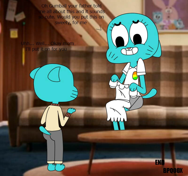 of world gumball tina amazing rex the Wii fit trainer porn gif
