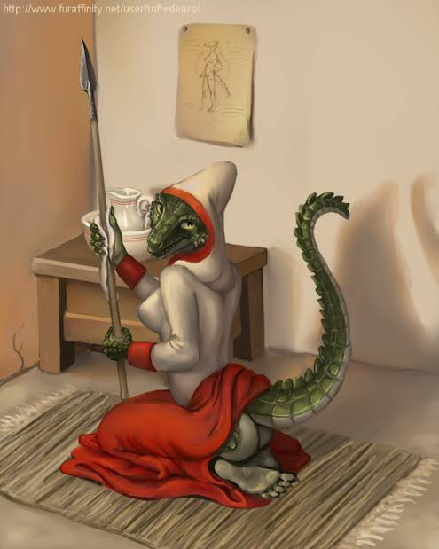 lusty the comic maid argonian Ghost girl resident evil 7