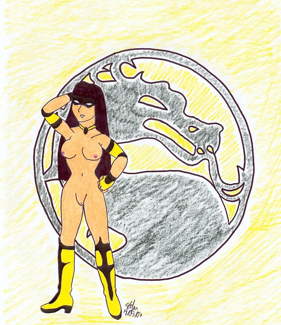 blade nude sonya kombat mortal That time i got reincarnated as a slime tear