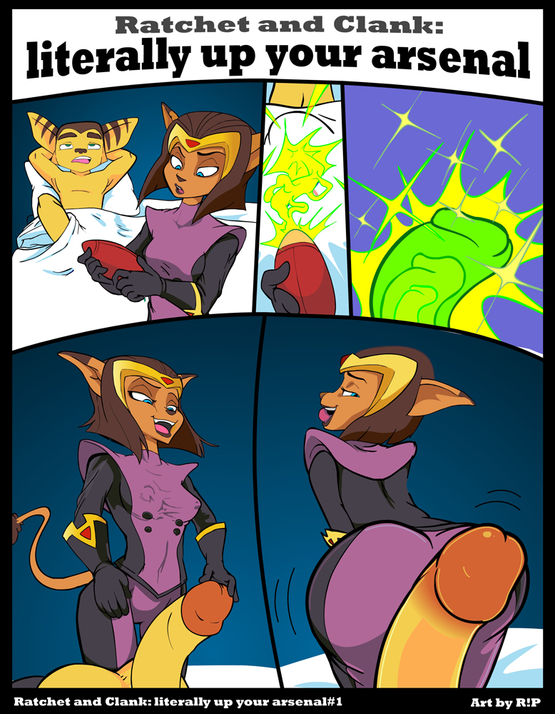 expansion and clank ratchet breast Who is this semen demon