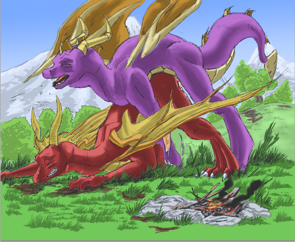 human fanfiction dragon the in spyro Girls und panzer french team