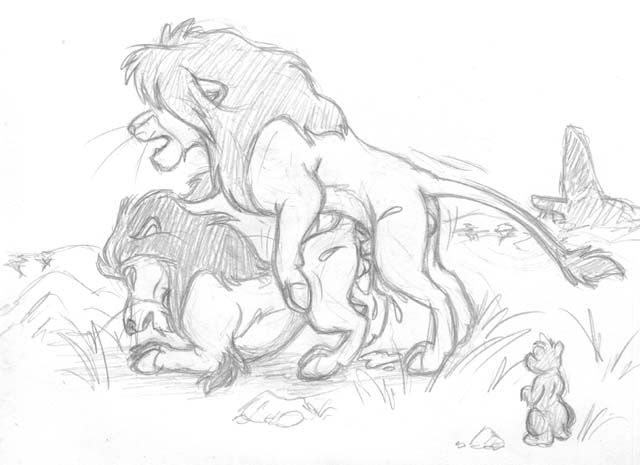 lion and kiara king kovu Poe a trials in tainted space