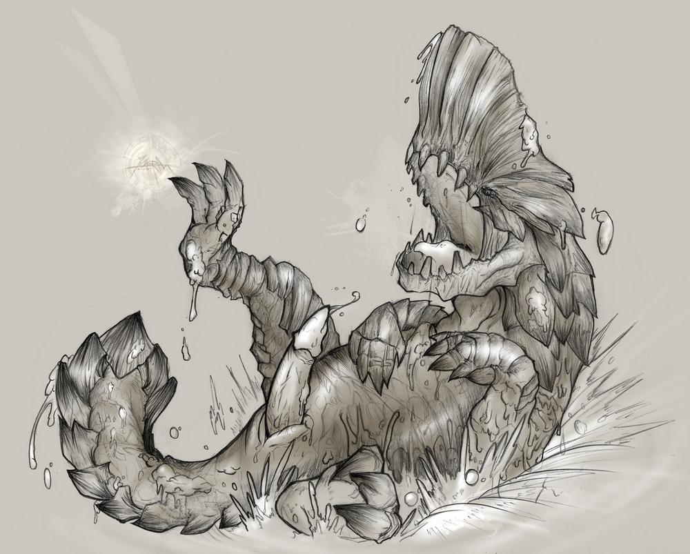dragon generations bubble monster hunter Five nights in anime fanart