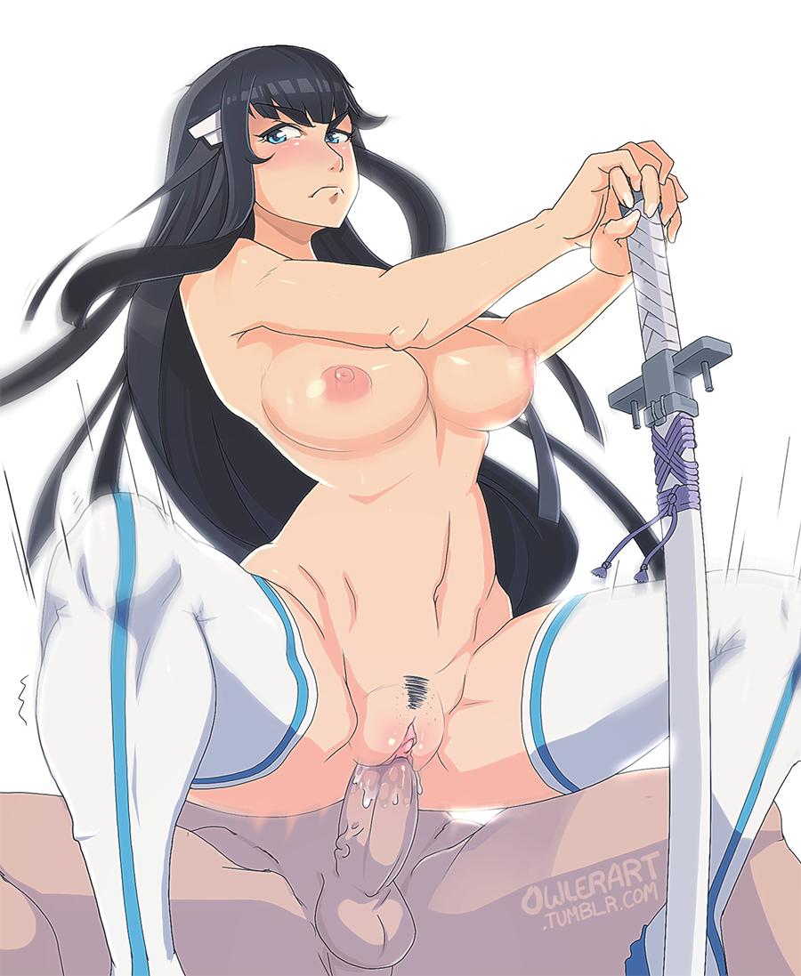 la satsuki kill kill nude My everyday life with monsters