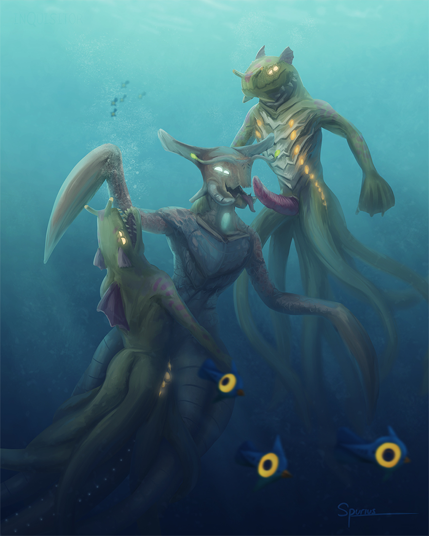 subnautica zero below monkey sea Monster girl quest crab girl