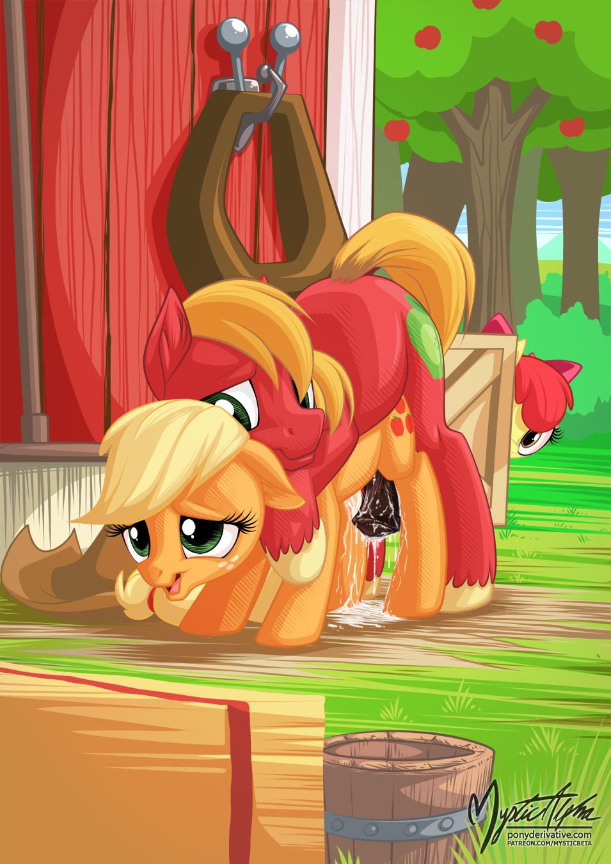 hentai pony applejack my little Scp-682-j