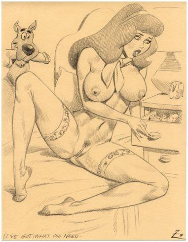 doo daphne in bikini scooby Anais and panini boobs porn