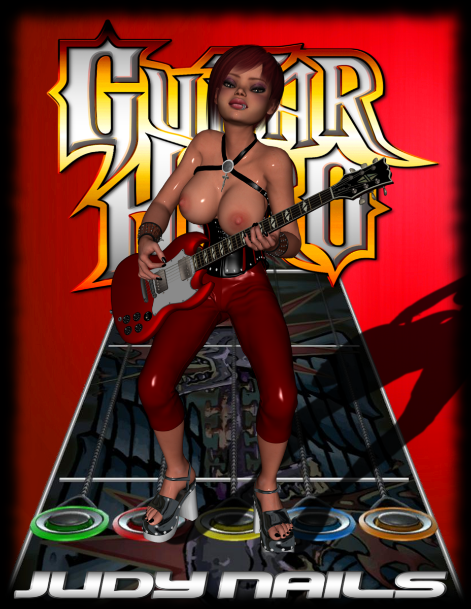 hero nails 2 guitar judy Breath of the wild eightfold longblade