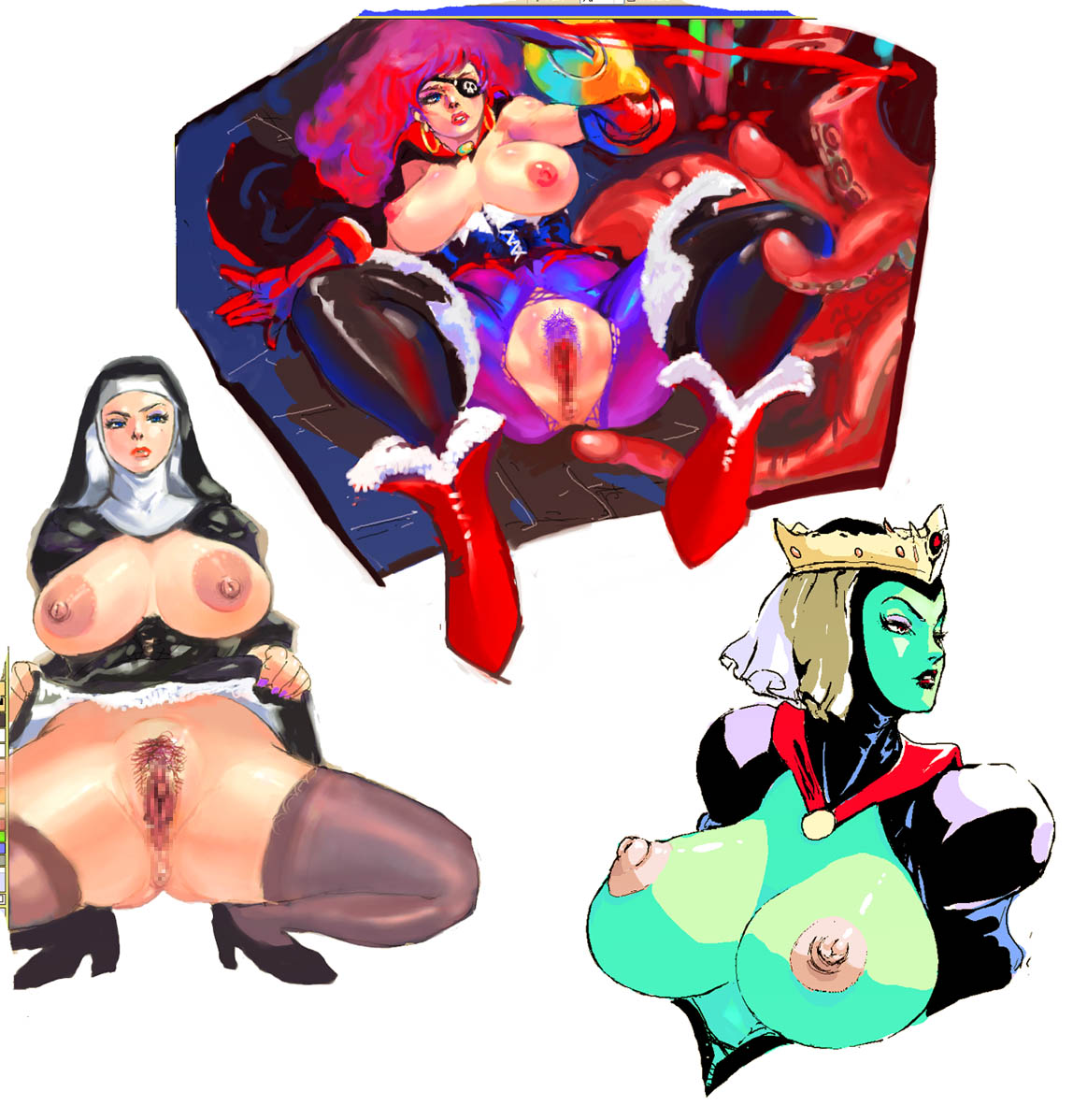 virtues hentai heavenly the seven Dragon ball fighterz android 21 fanart