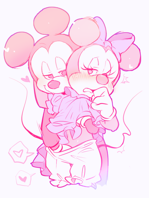 minnie mouse and rose amy Doki doki literature club all monika dialogue