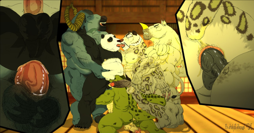 panda tigress fu kung nude Five nights at freddy's vs minecraft