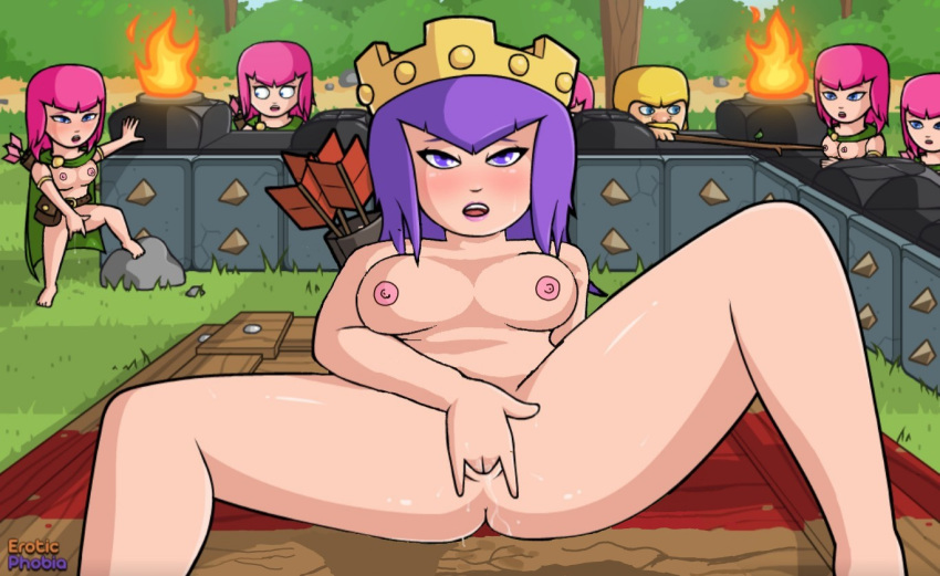 from clash clans of witch Ghost in the shell paz