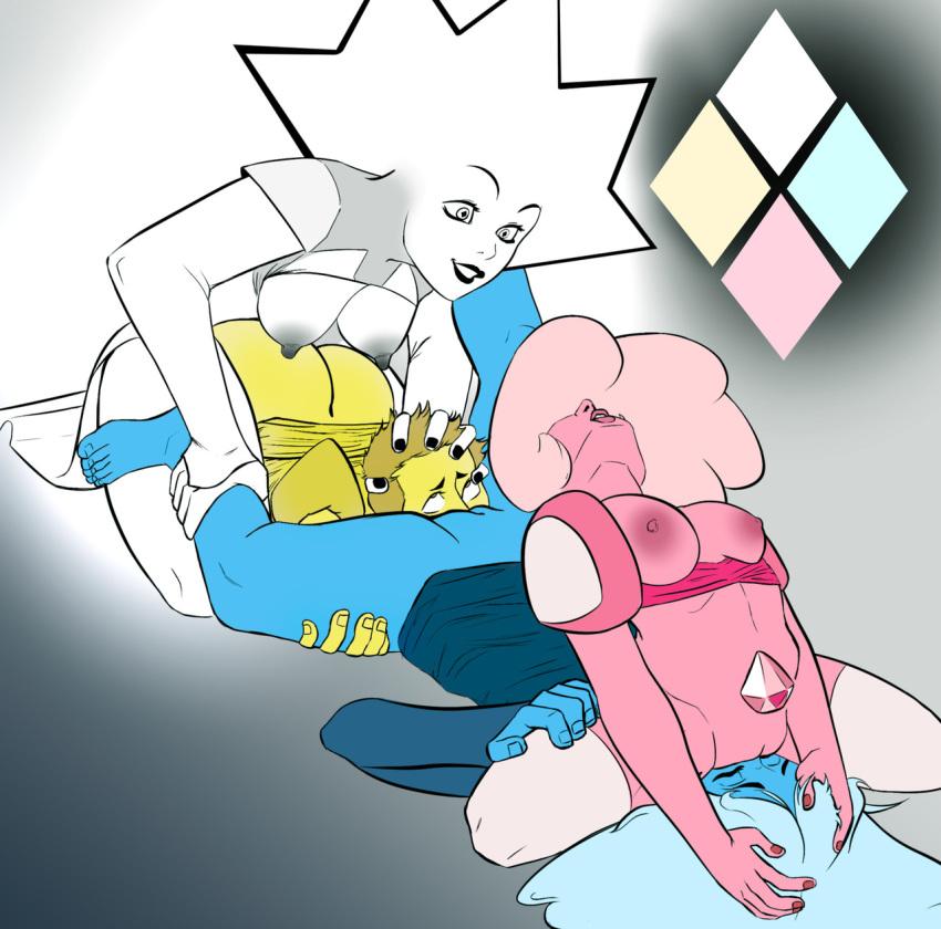 diamond yellow blue diamond x Kuroinu ~kedakaki seijo wa hakudaku ni somaru