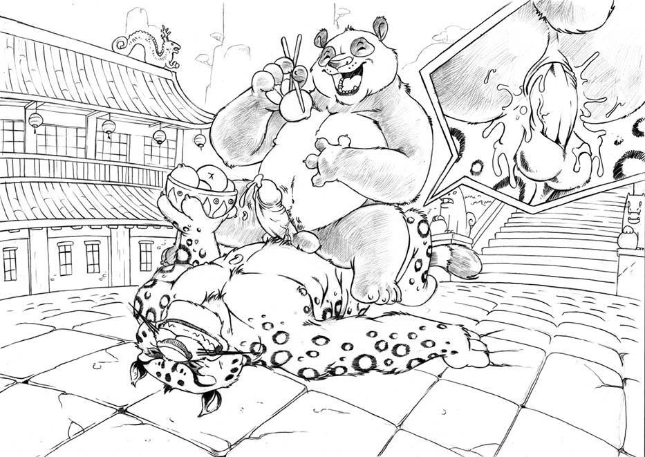 kung panda fu viper master Doki doki literature club monika gif
